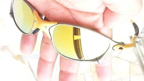 50ad05802 Oculos Oakley 24k Double Xx 24k Gold Frete Gratis Oferta - R$ 2.100 ...