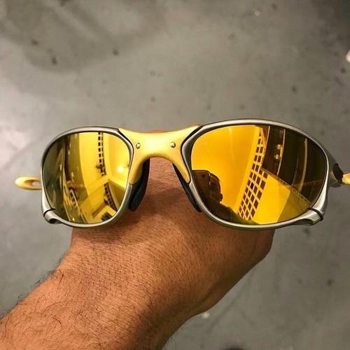 1beb3dae5 Oculos Oakley 24k Double Xx Gold Frete Gratis Oferta So Hoje - R ...