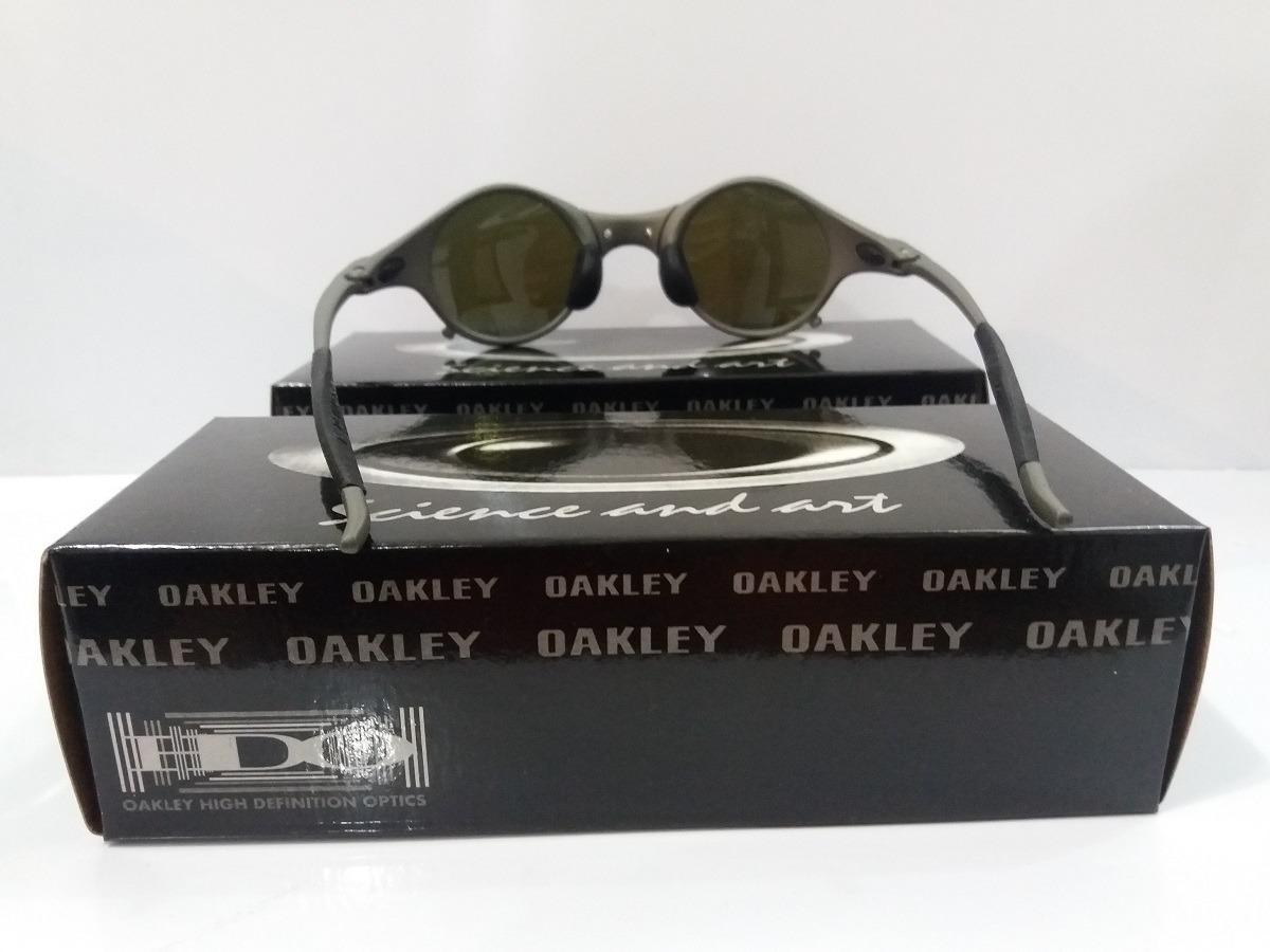 e900f8c1ed994 Oculos Oakley 24k Medusa Azul Escuro Promoção - R  149