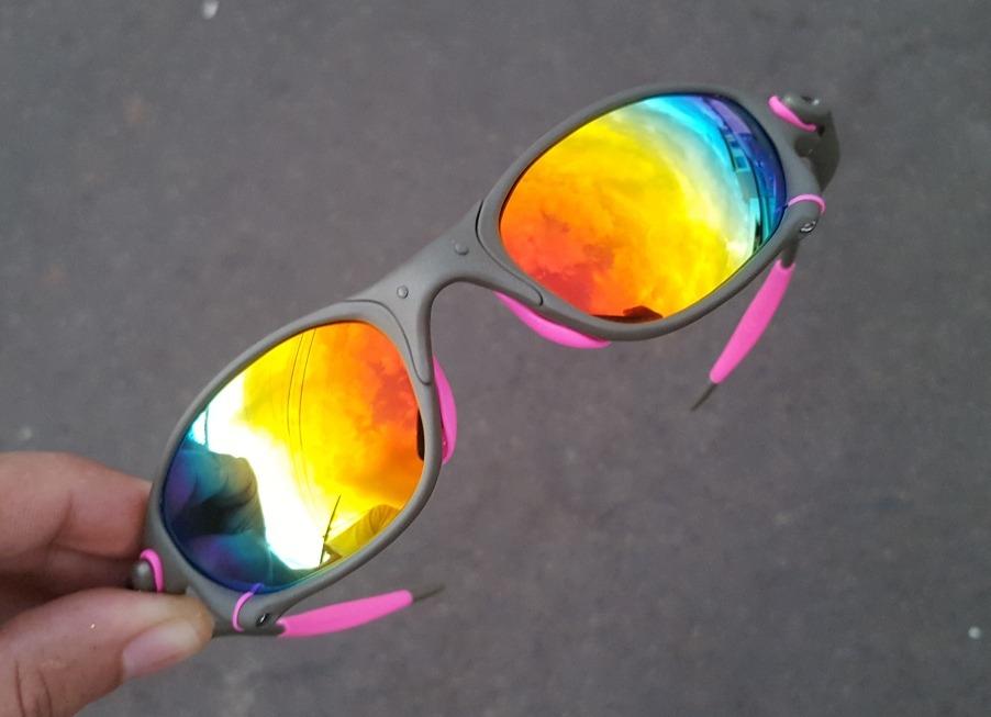 106f7913b óculos oakley 24k penny juliet mars tio 2 double x arco íris. Carregando  zoom.