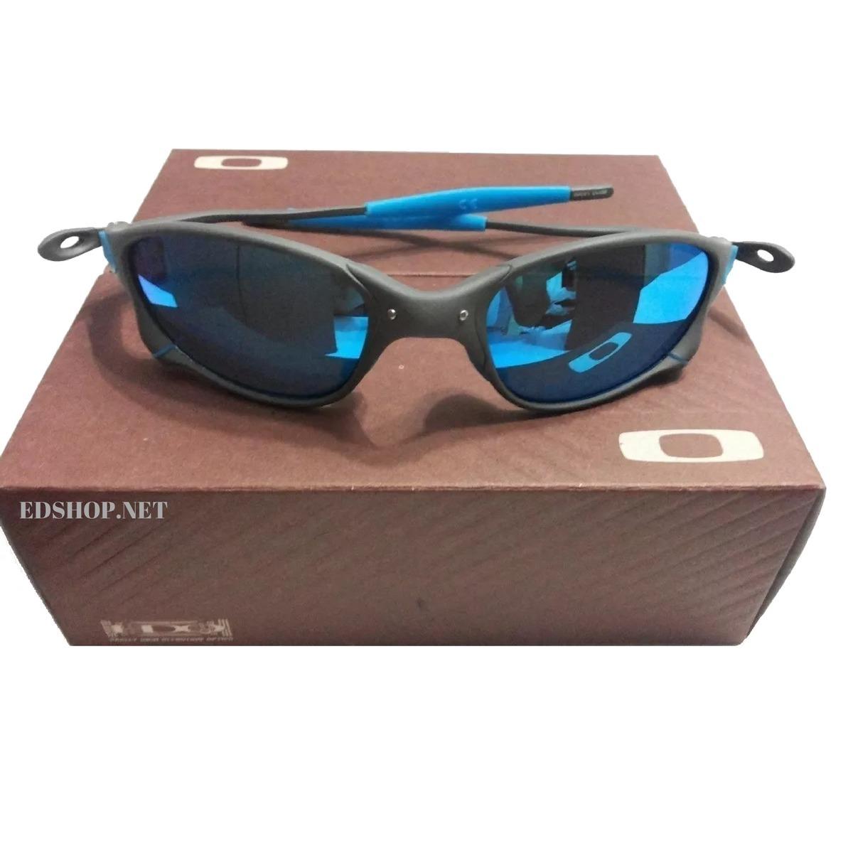 Óculos Oakley 24k Squared Ice Thug + Certificado - R  120,00 em ... c88b21e8d3