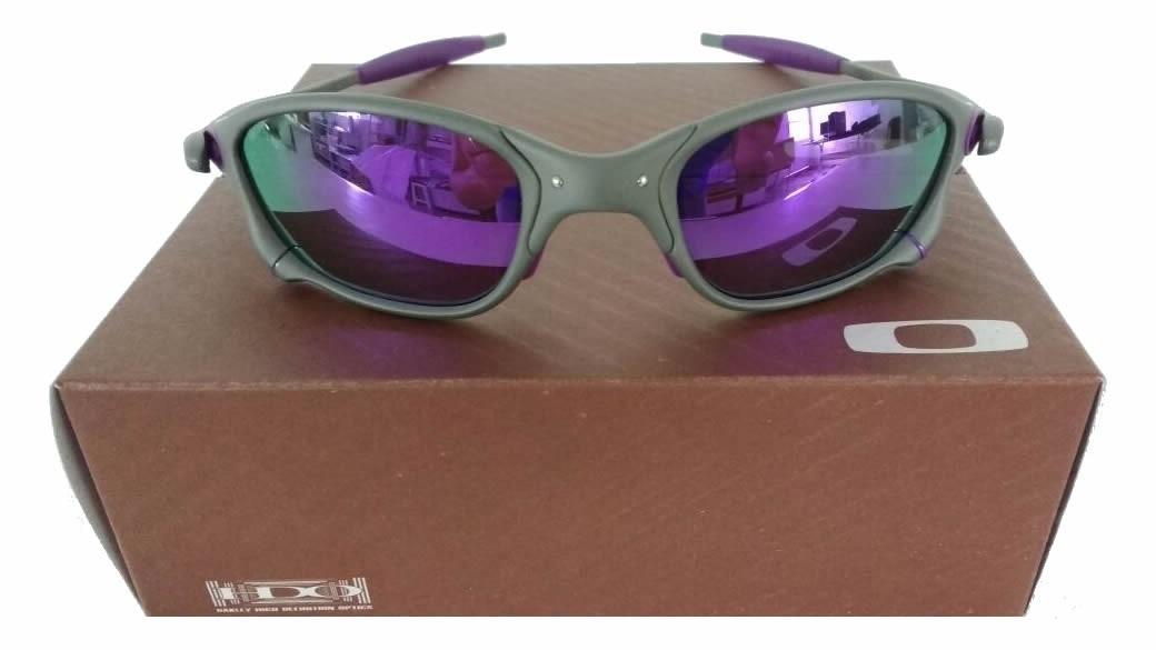 óculos oakley 24k x-squared romeo double x juliet roxa. Carregando zoom. a556b1cbef