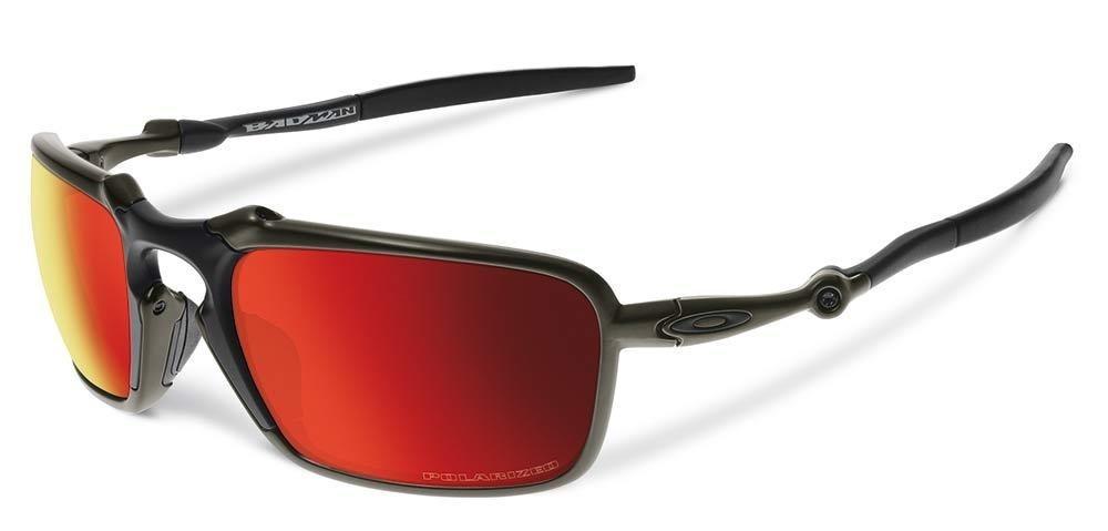 9a72acef6 Óculos Oakley Badman - Lentes Ruby 100% Polarizadas - Novo - R$ 189 ...