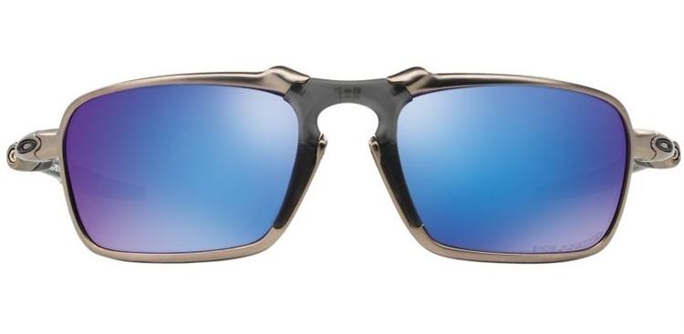 Óculos Oakley Badman Plasma W   Sapphire Iridium Polarized - R ... 1d5e22aed2