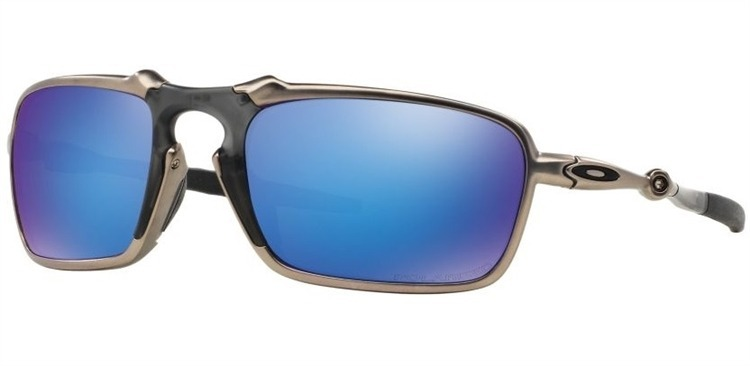 b987a8d061841 Oculos Oakley Badman Sapphire Iridium Polarizado Oo6020 04 - R ...