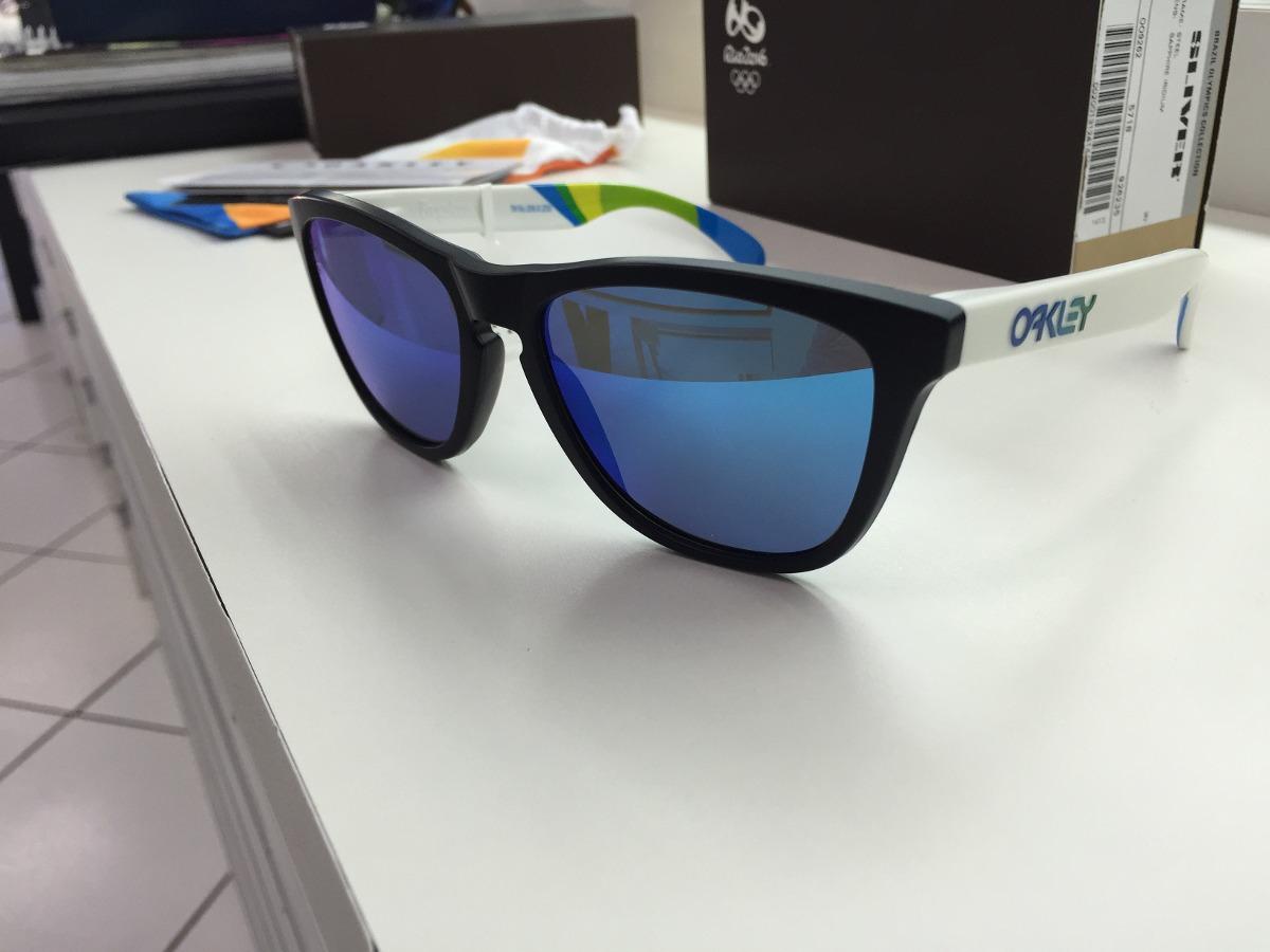 94d1868f2ede2 oculos oakley brazil olympics frogskins oo9013-94 55 origin. Carregando  zoom.