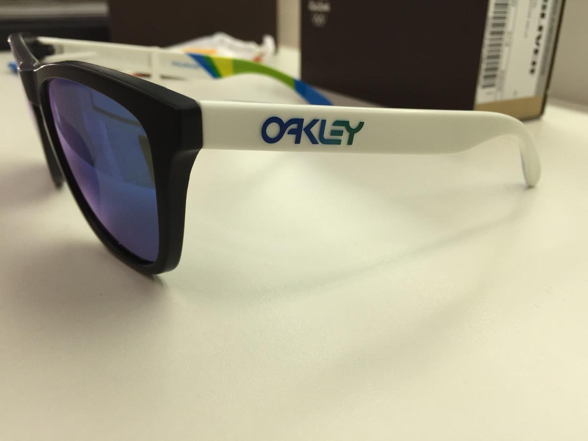 bd8e3a2fe51c9 oculos oakley brazil olympics frogskins oo9013-94 55 origin. Carregando zoom .