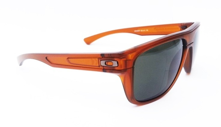 7d8a3f7ee4596 Oculos Oakley Breadbox Dark Amber Dark Grey Iridium Promoçao - R  350