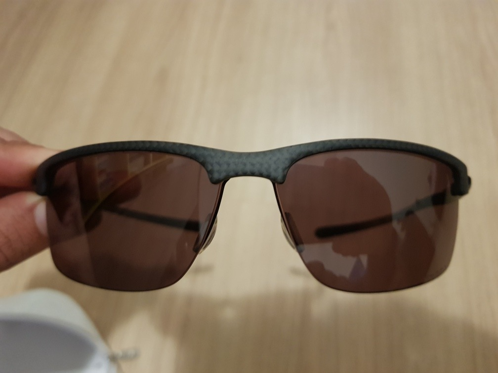 068f06f59ca34 óculos oakley carbon blade prizm polarized- zero impecavel. Carregando zoom.