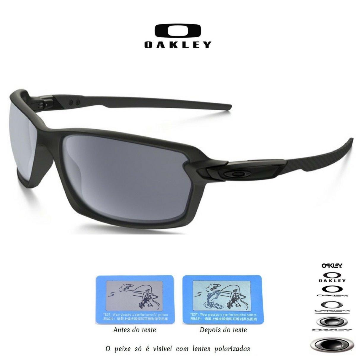10e91618e325d Oculos Oakley Carbon Shift Preto Fibra De Carbono Promoção - R  120 ...