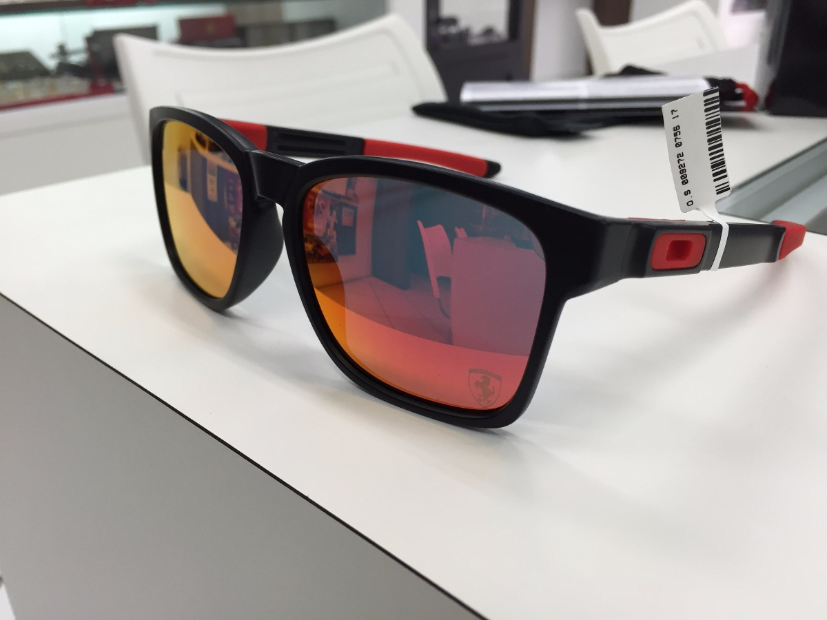 fb9ca4a0ff7a0 oculos oakley catalyst ferrari collection oo9272-07 original. Carregando  zoom.
