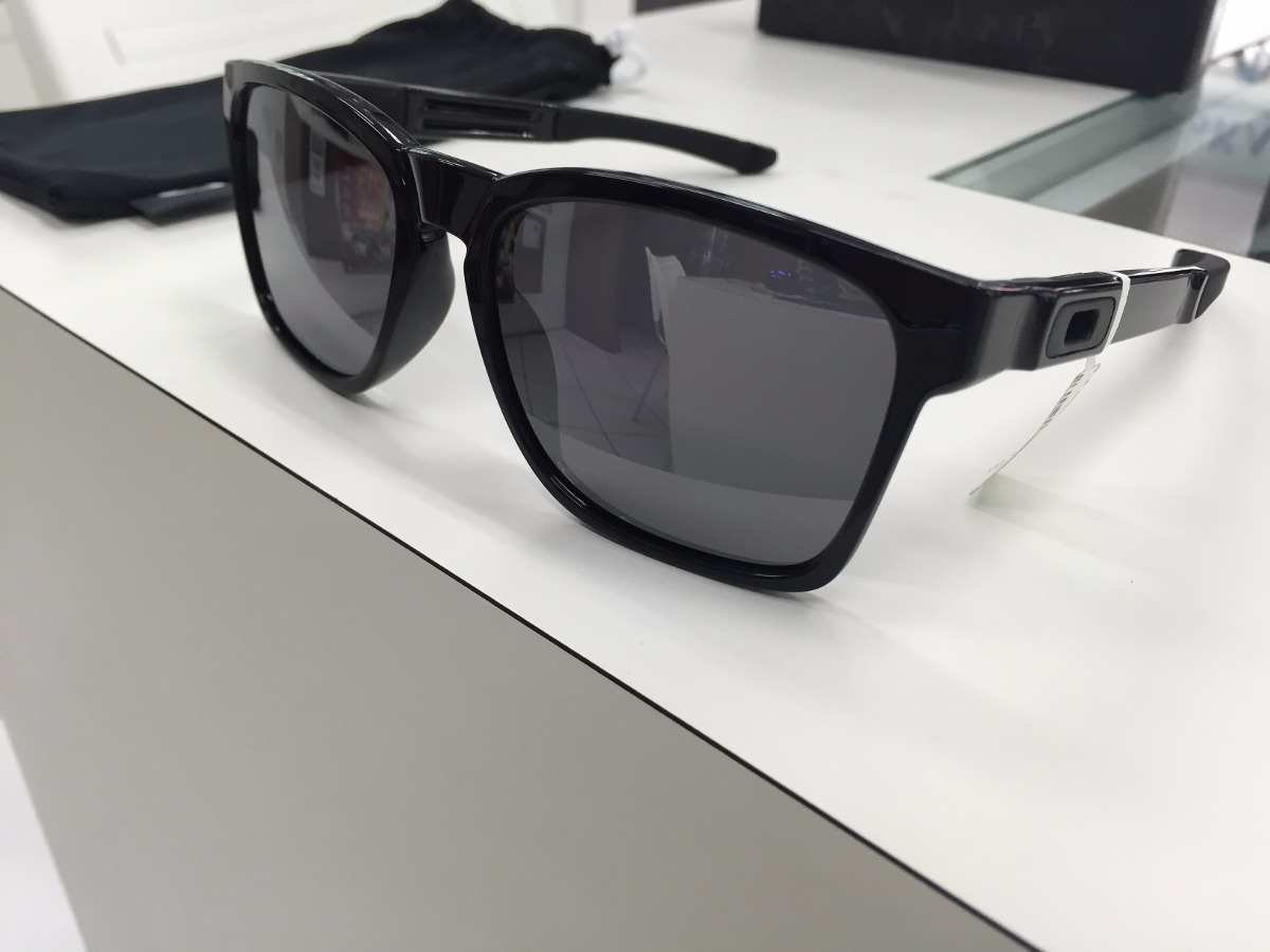 ebd9cb8defb oculos oakley catalyst oo9272-02 polished black original. Carregando zoom.