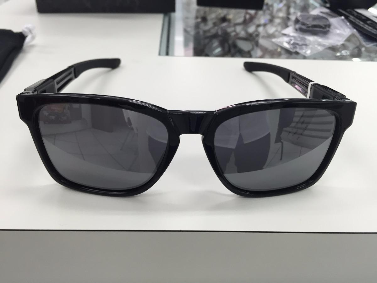 17d05ace1c191 oculos oakley catalyst oo9272-02 polished black original. Carregando zoom.