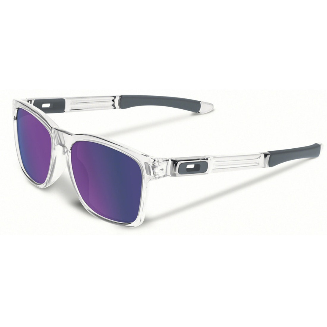 óculos oakley catalyst polished clear w  violet iridium roxo. Carregando  zoom. 2ce59decad