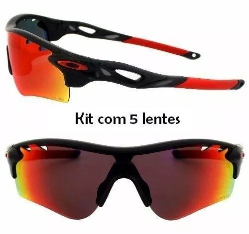2be114a934756 Óculos Oakley Ciclista Radar Lock Path 5 Lentes 009181-04 - R  279 ...