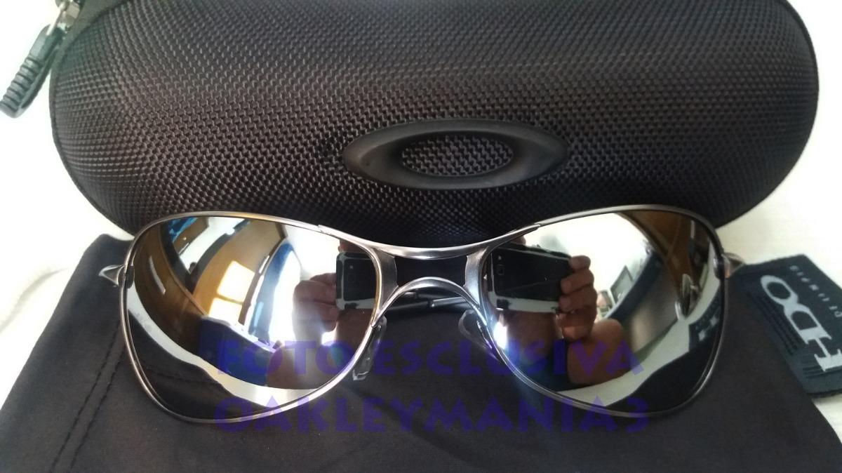 oculos oakley crosshair 2.0 grafite lente liquid metal +case. Carregando  zoom. 6f7c6cbb8f8
