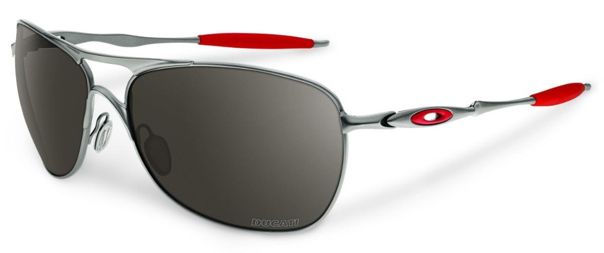 1ced04cc5717b Óculos Oakley Crosshair Ducati Oo4060-09 - Polarizado - R  349