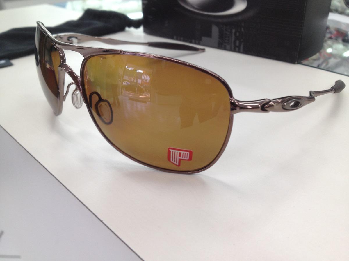 oculos oakley crosshair polarizado 004060-04 original pronta. Carregando  zoom. 867fb4efd4
