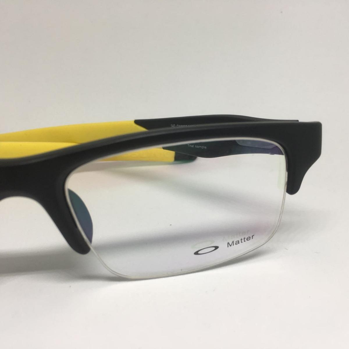 oculos oakley crosslink fio nylon armação grau - amarelo. Carregando zoom. 2d555de503