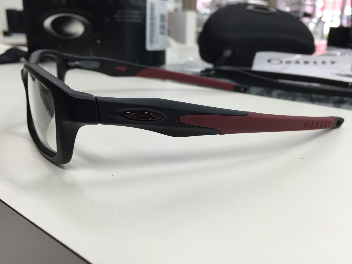 Oculos Oakley Crosslink Ox8030-0555 Santin Blk blk Original - R  529 ... a2e4a3c081
