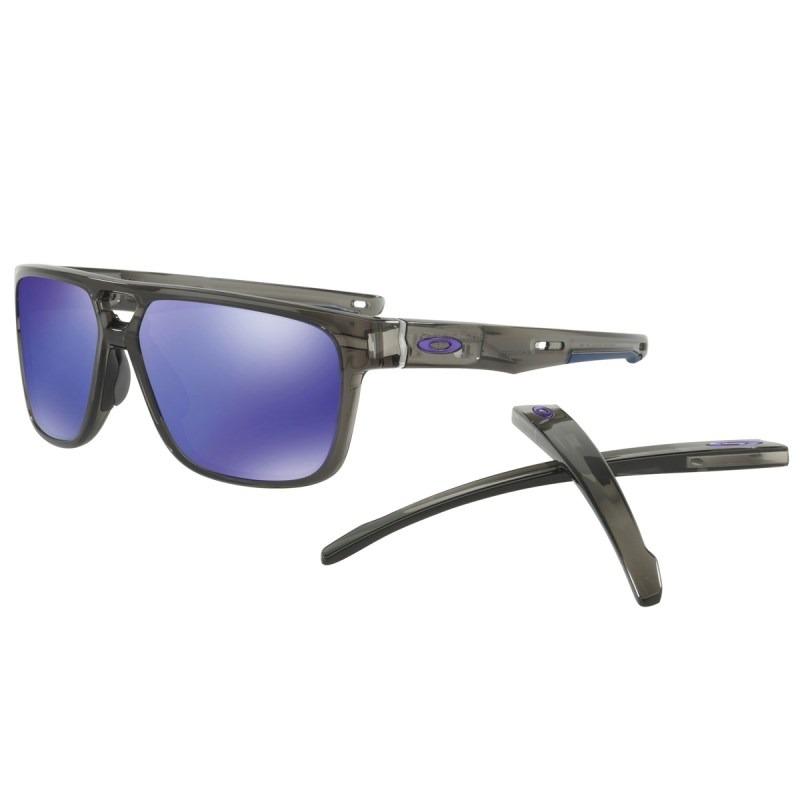 7d1e3d6ed9894 óculos oakley crossrange patch grey smoke   violet iridium 9. Carregando  zoom.