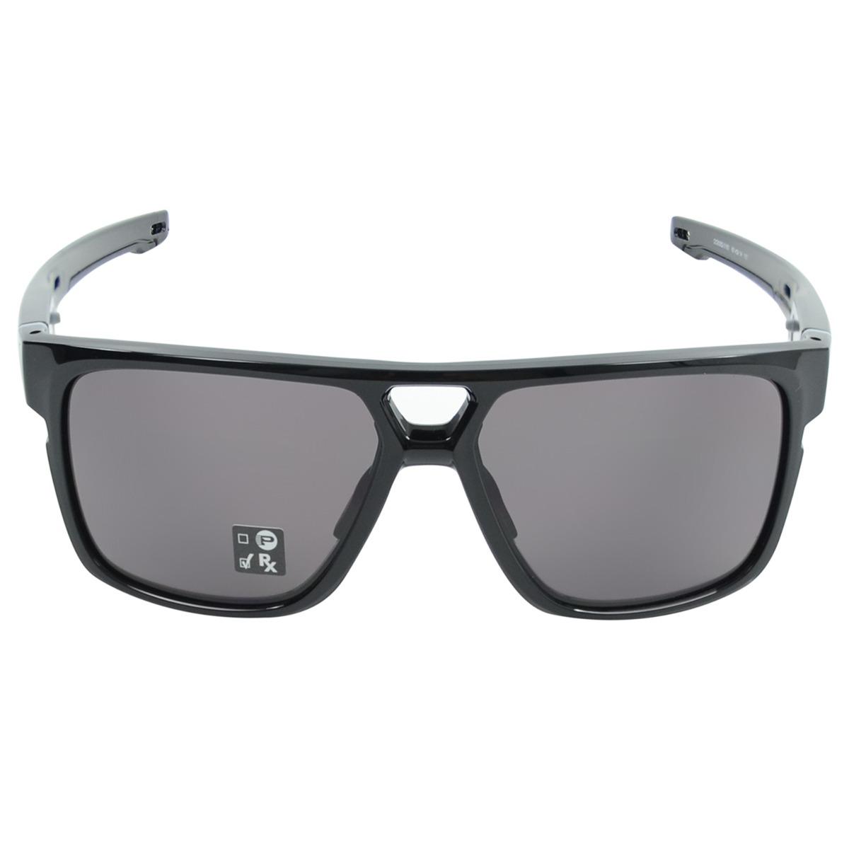 bc679062e9883 Óculos Oakley Crossrange Patch Polished Preto - R  600,00 em Mercado ...