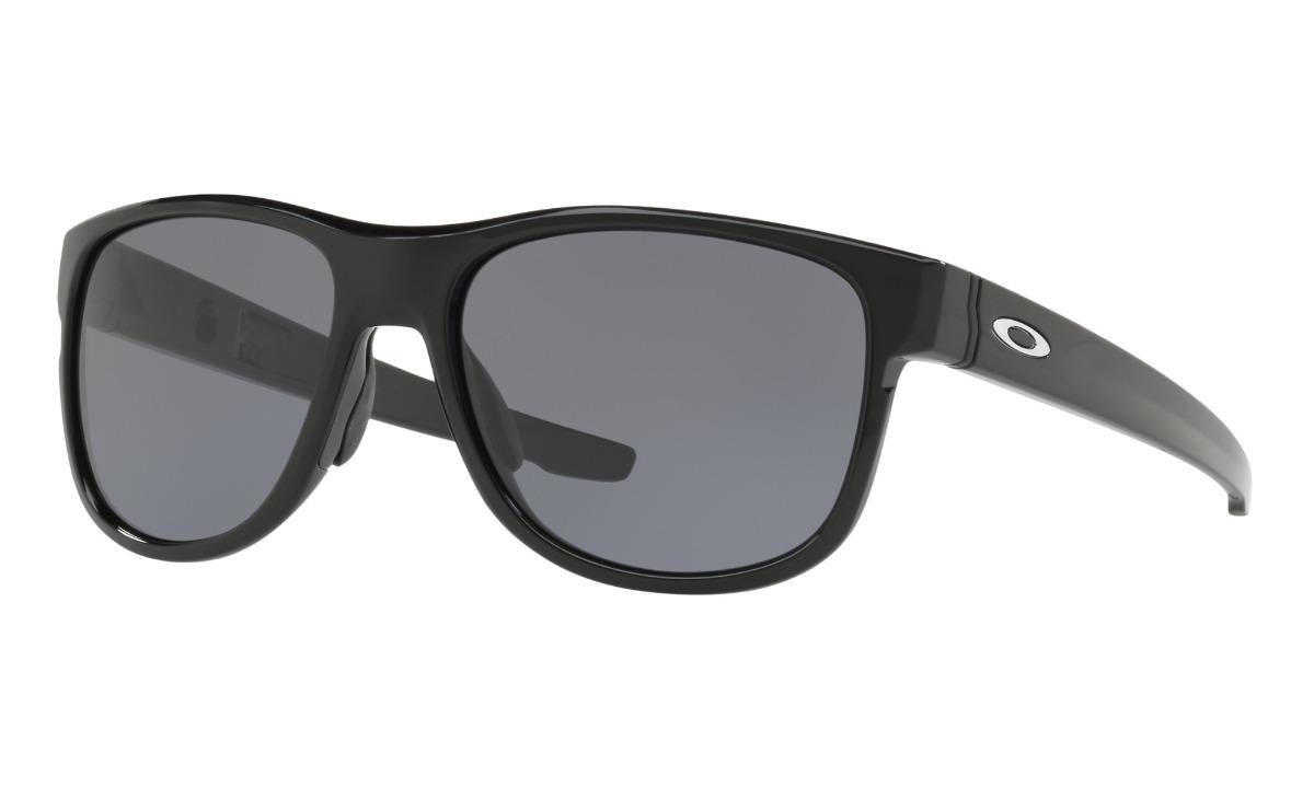 dec47719f398c óculos oakley crossrange r - polished black - grey original. Carregando  zoom.