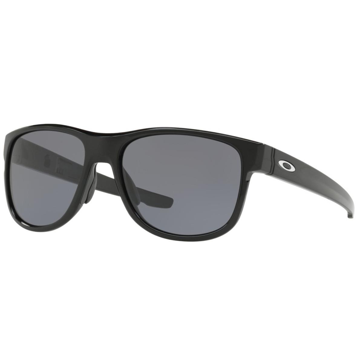 08fbd8c6895a1 Óculos Oakley Crossrange R Polished Black  Lente Grey - R  549,90 em ...