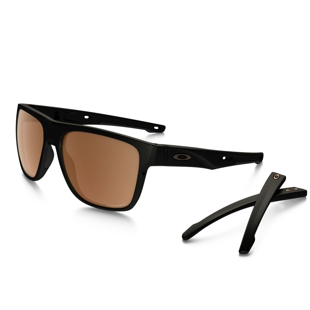 óculos oakley crossrange xl matte black tungsten polarizado. Carregando  zoom. 2a4c3b4249