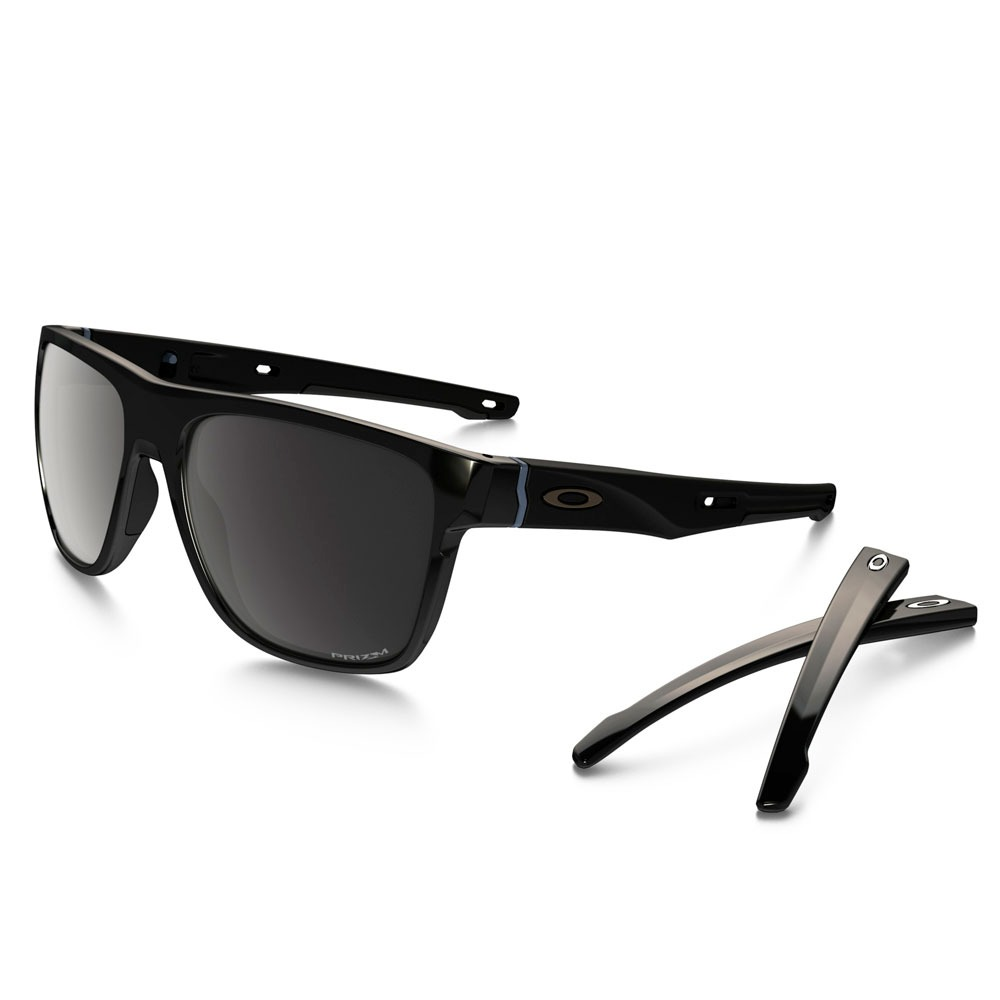 7735b6baf12db óculos oakley crossrange xl polished black prizm polarizado. Carregando  zoom.