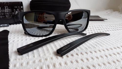 0e079dc0f Óculos Oakley Crossrange Xl Preto/cinza Polarizado - Novo - R$ 389 ...