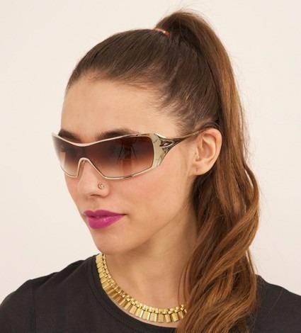5028e0a28d539 Óculos Oakley Dart Gold 100%%% Polarizado A Pronta Entrega - R ...