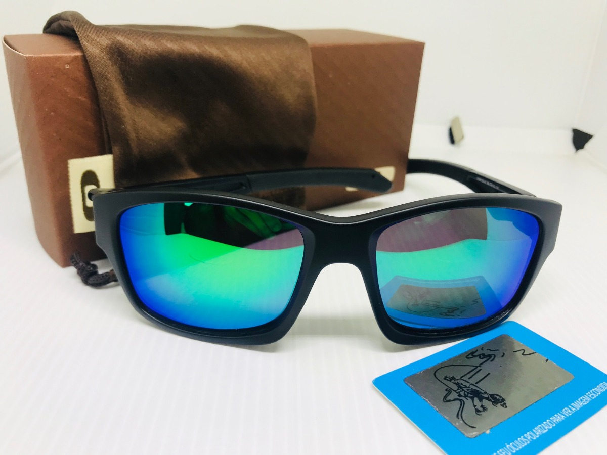 6ad47bc3ce18e oculos oakley de sol masculino lupa polarizado + brinde. Carregando zoom.