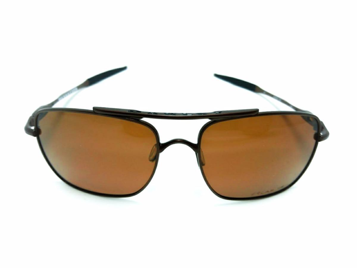 0d6e89094170f óculos oakley deviation 100% polarizado marrom promocional. Carregando zoom.