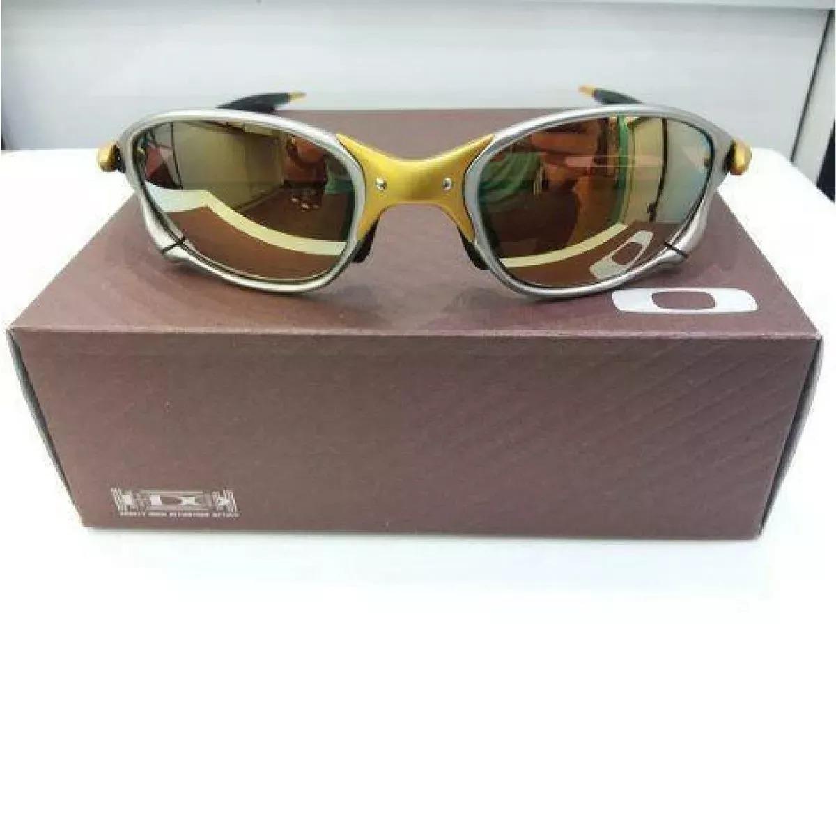 2817a2d5dc9de óculos oakley double 24k gold promoção. Carregando zoom.