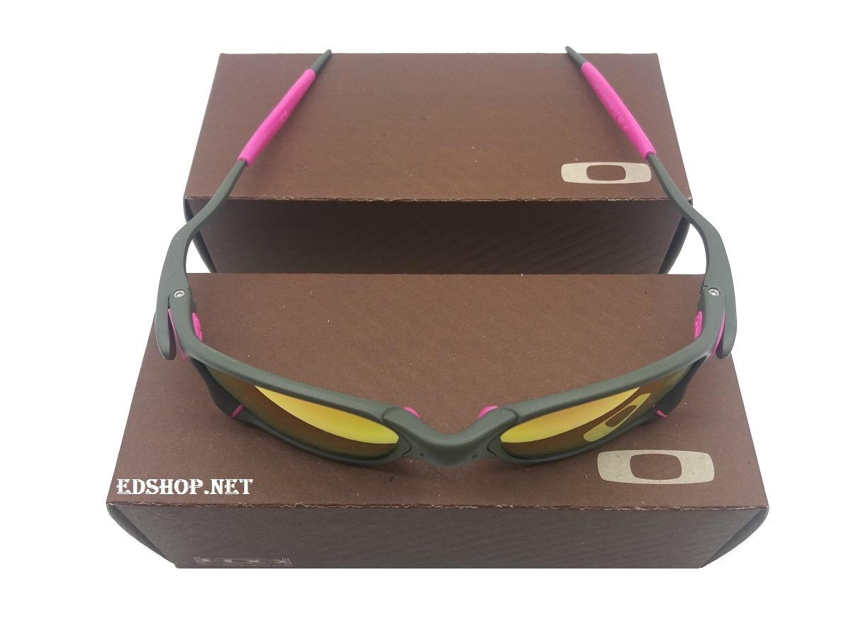 óculos oakley double 24k squared lentes rosa + certificado. Carregando zoom. 3c3b5ba3fe