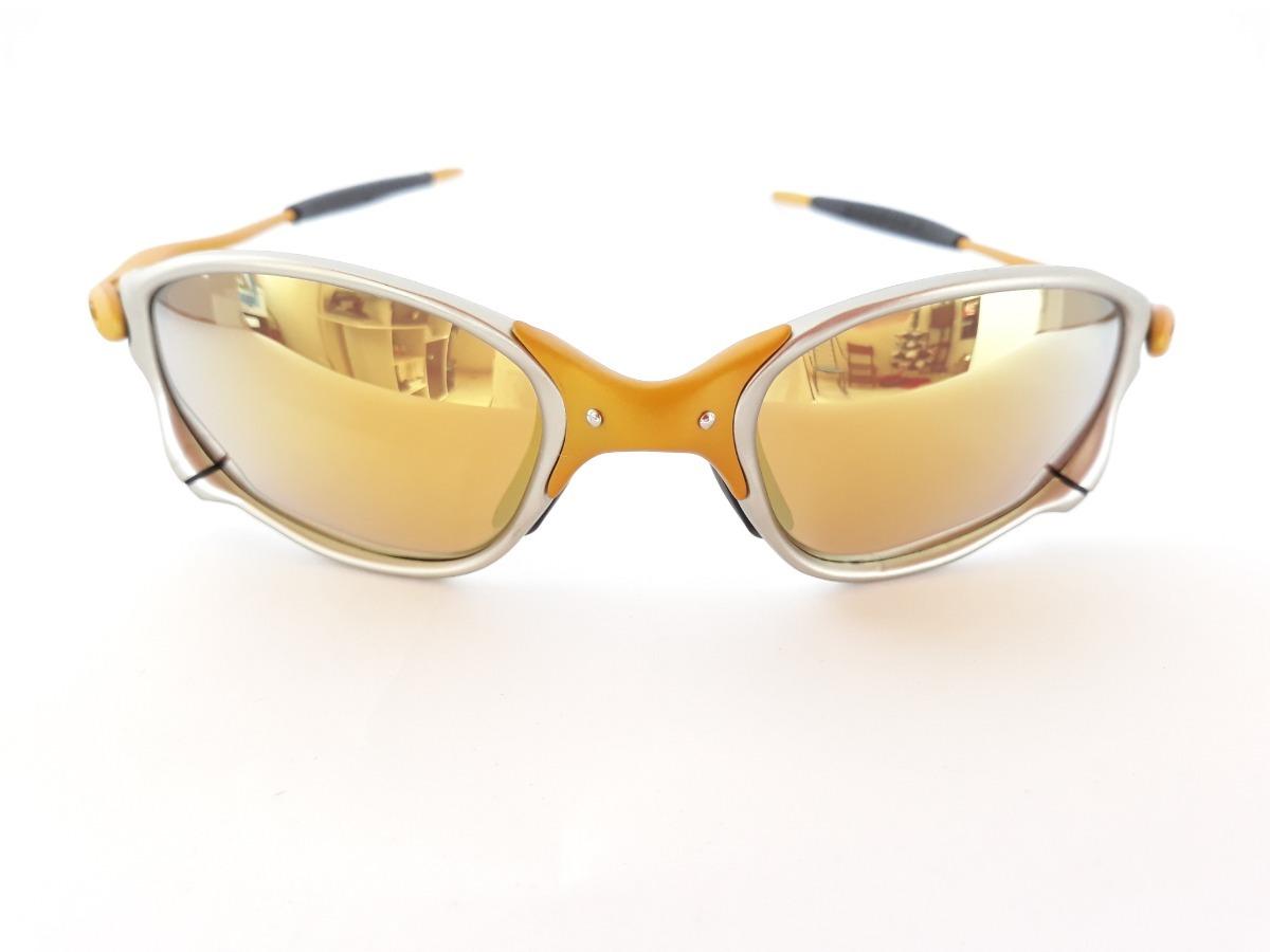 93f87a6a0 Óculos Oakley Double X 24k Juliet Lentes Gold Polarizada - R$ 170,00 ...
