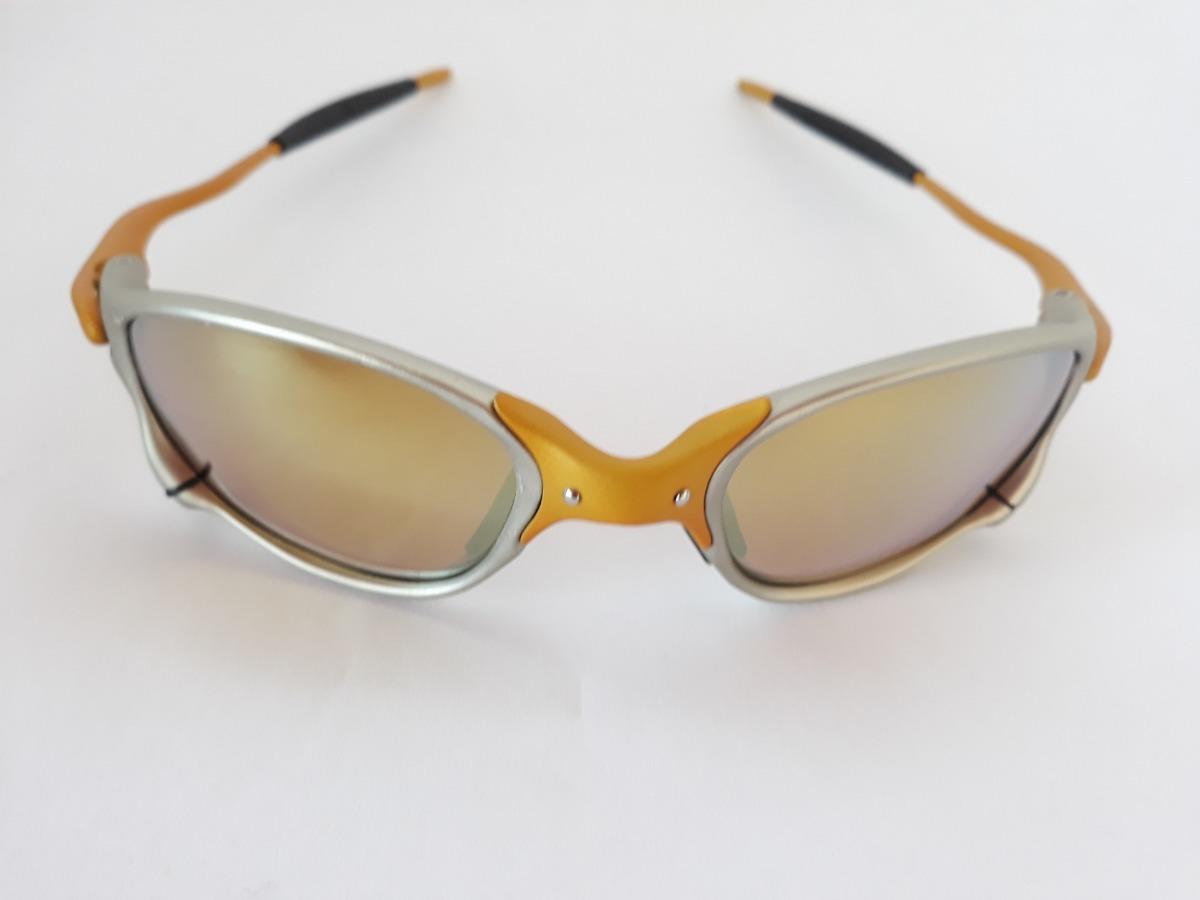 b980b7806 Óculos Oakley Double X 24k Juliet Lentes Gold Polarizada - R$ 170,00 em  Mercado Livre
