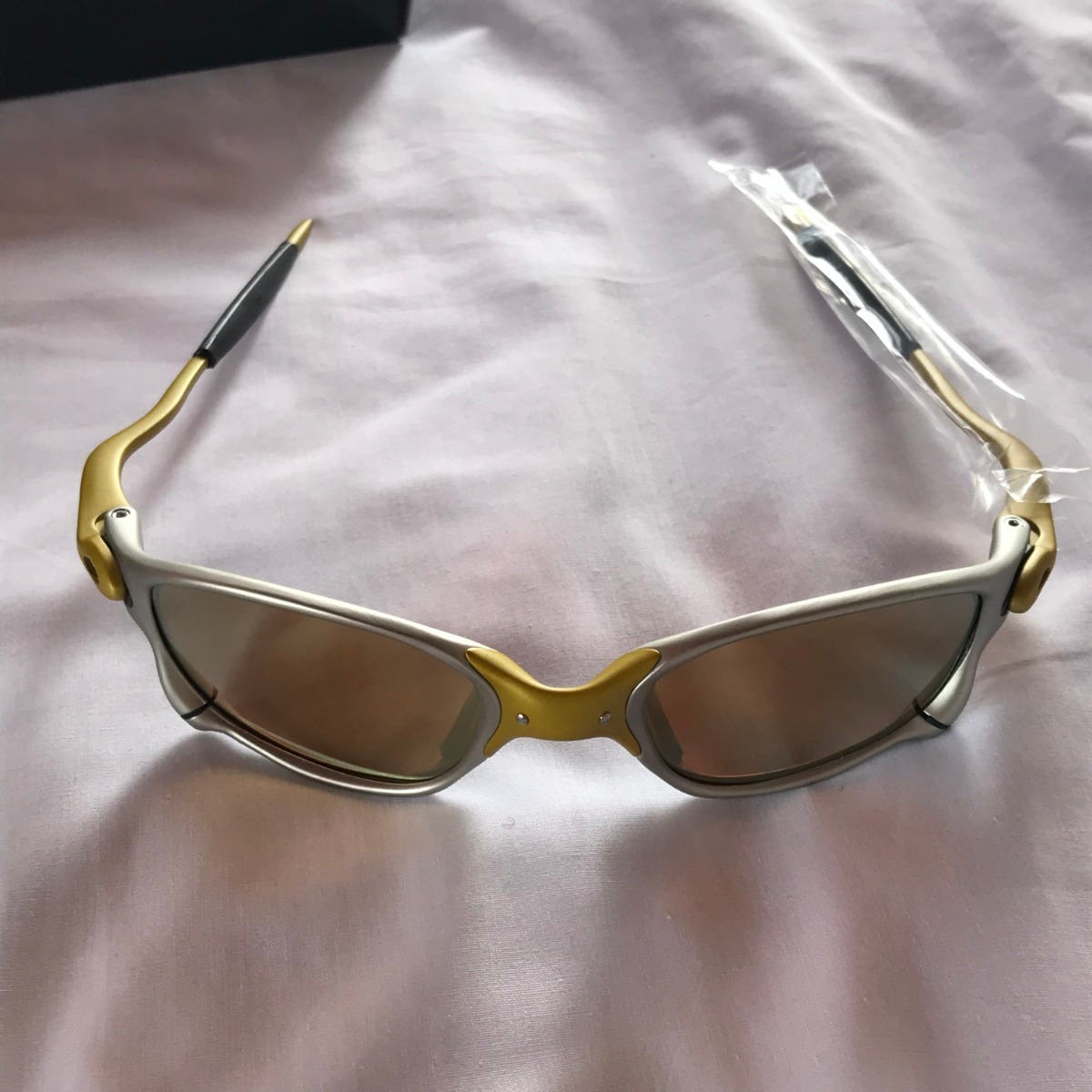 d52ae6dc7 óculos oakley double x 24k lentes gold x metal juliet lupa. Carregando zoom.