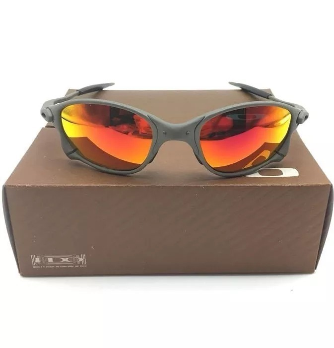 aecb2b96ca2ed Óculos Oakley Double X Lente Rubi Squared Juliet 24k Penny - R  150 ...