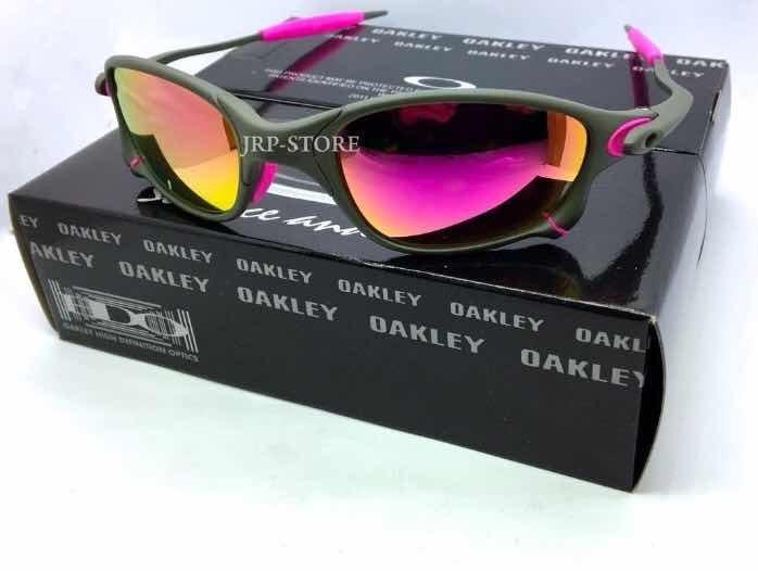 3a6b412a8 Óculos Oakley Double X - Lentes Violet - Promoção - R$ 139,99 em ...