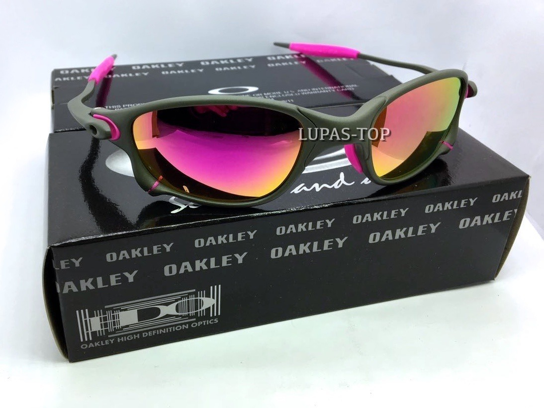 c0b8633006d0d oculos oakley double x x metal lentes e borrachas rosa pink. Carregando  zoom.