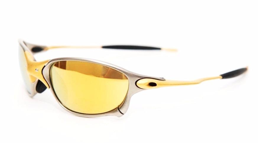 7b0759c74d756 oculos oakley double xx 24k gold iridium original + brinde. Carregando zoom.