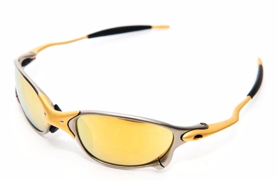 e44961ea04fc5 Oculos Oakley Double Xx 24k Gold Iridium Original + Brinde - R ...