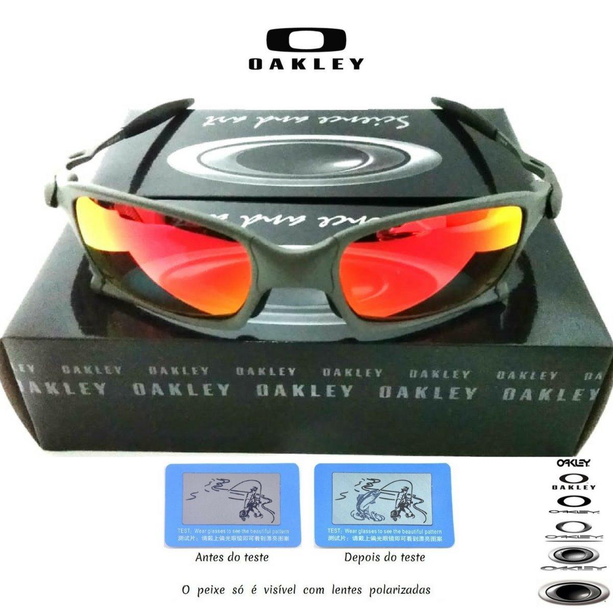 592e6d8b2417a Óculos Oakley Double Xx 24k Squared Rubi Juliet Romeo2 - R  89,90 em ...