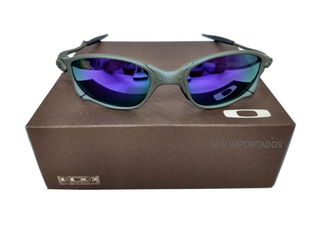 e9ad8eca60bf3 Oculos Oakley Double Xx Roxa Certificado + Teste - R  79,00 em ...