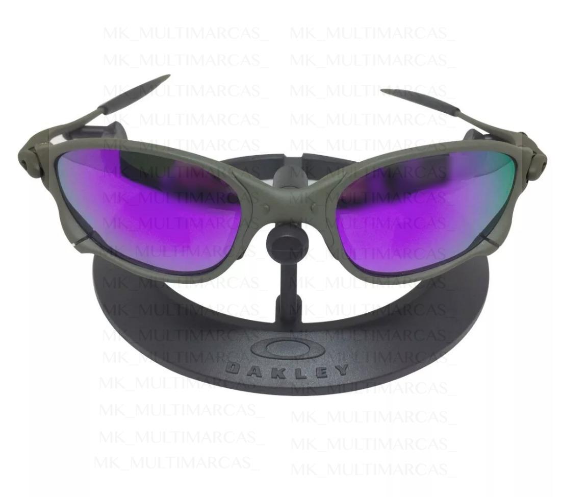 074a17c19 oculos oakley double xx roxa + kit borrachinhas + teste. Carregando zoom.