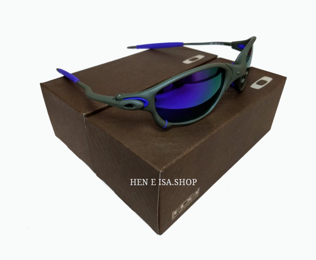 f3da241f4 Oculos Oakley Double Xx Roxa + Teste - R$ 93,00 em Mercado Livre