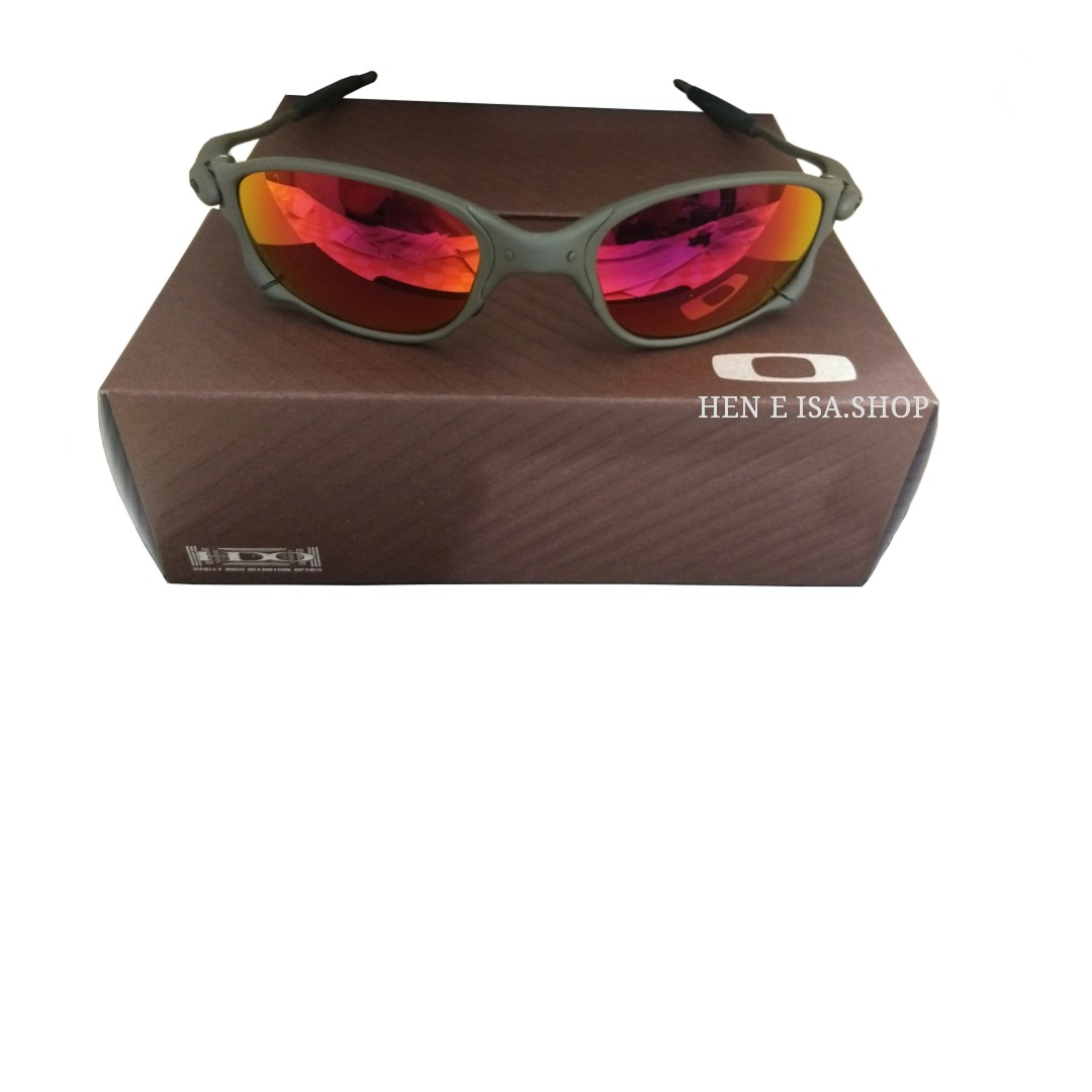 08774a4e22b52 oculos oakley double xx ruby + teste + certificado. Carregando zoom.