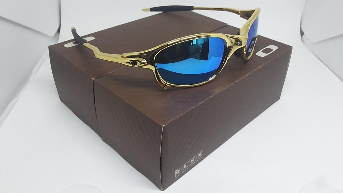 dbd733761 óculos oakley double xx squared juliet 24k romeo 1 2 penny. Carregando zoom.